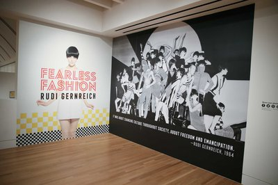 8|11  Fearless Fashion, Exhibition view © Danny Moloshok / Skirball Cultural Center